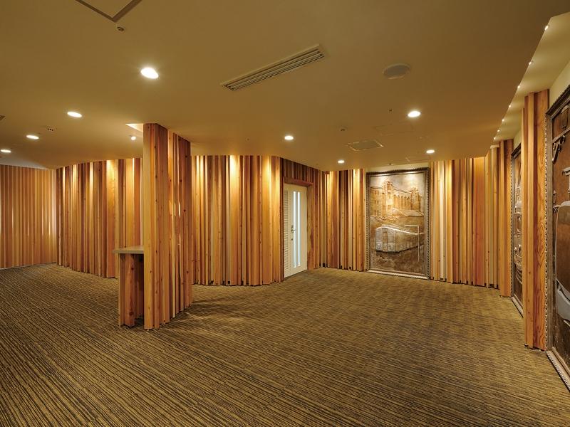 木材を用いたオフィステナントデザイン