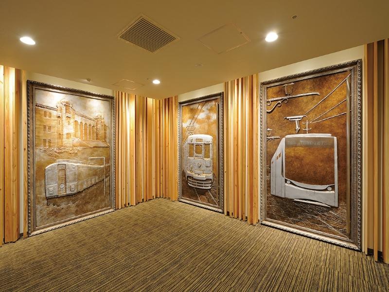 壁画を用いたオフィス空間デザイン