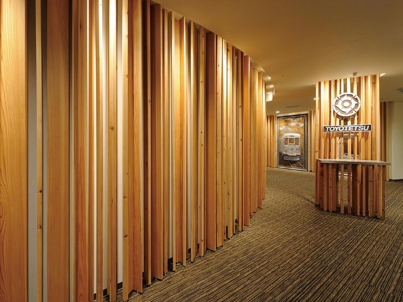 木材を用いたオフィス空間デザイン