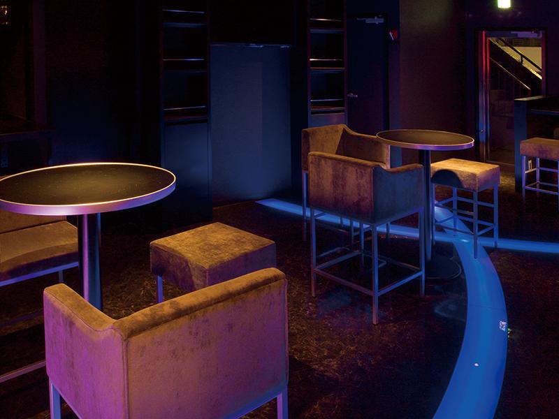 高級クラブのテーブルと椅子デザイン