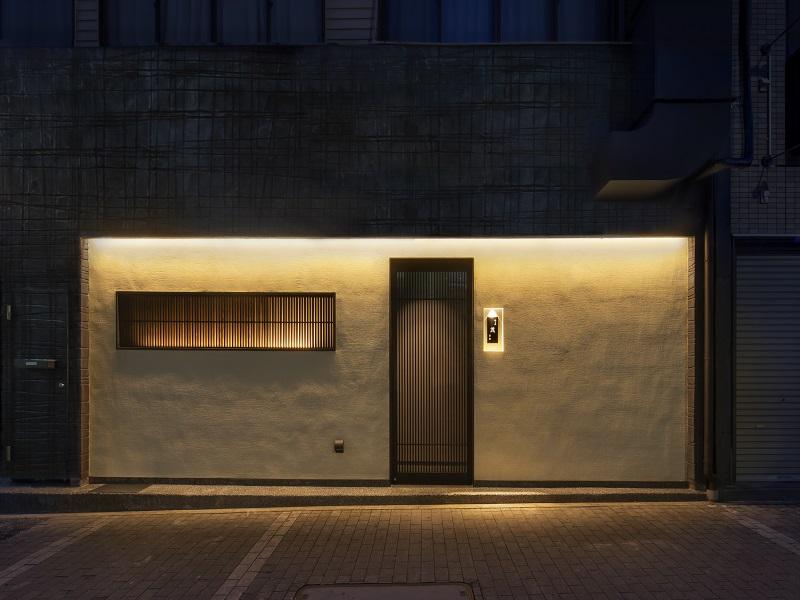飲食店の外観の店舗デザイン