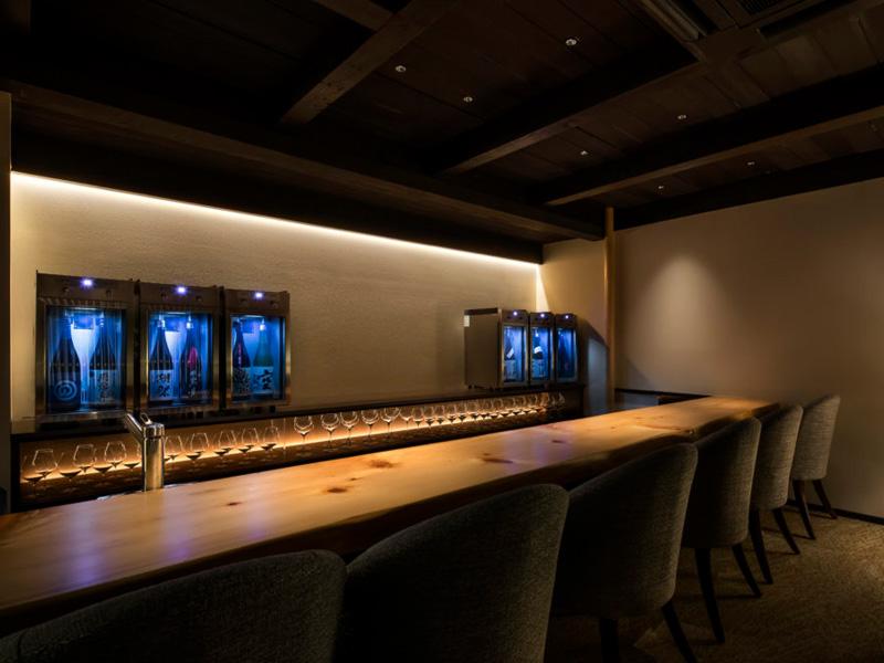 古民家を改築した日本酒バー