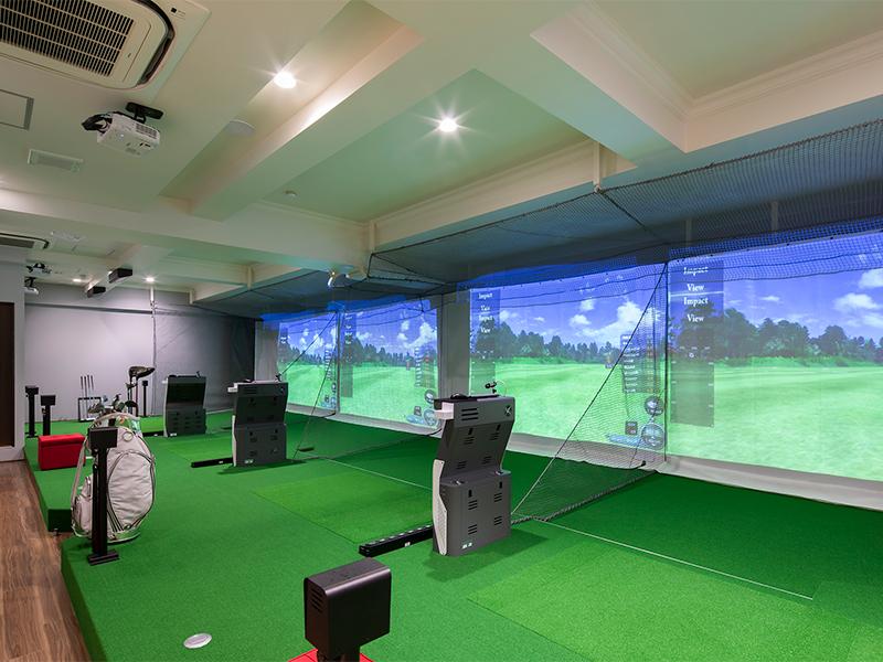 ゴルフレッスン練習所のデザイン