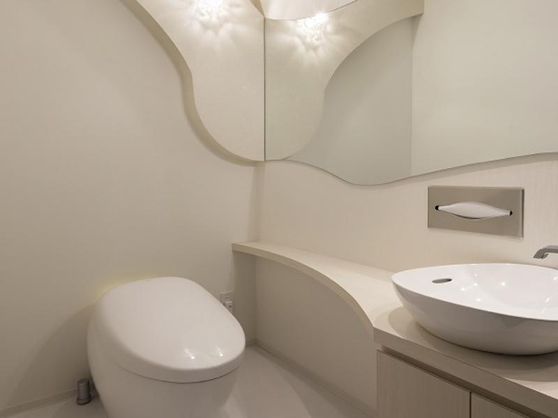 飲食店のトイレのデザイン