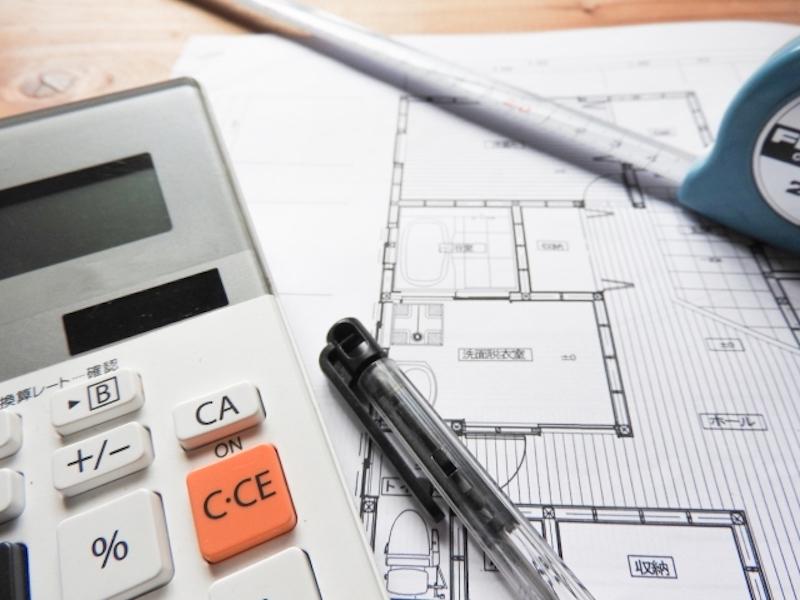 内装工事の全体の予算決め