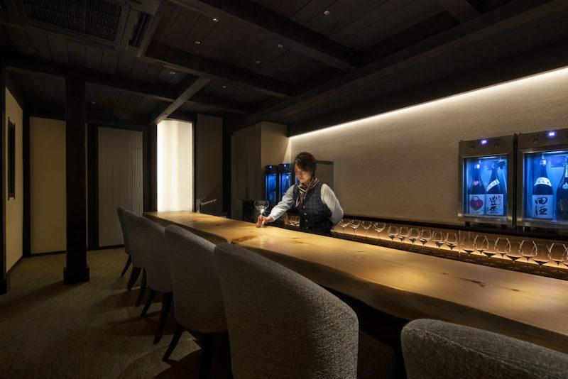 バーや居酒屋のカウンター設計