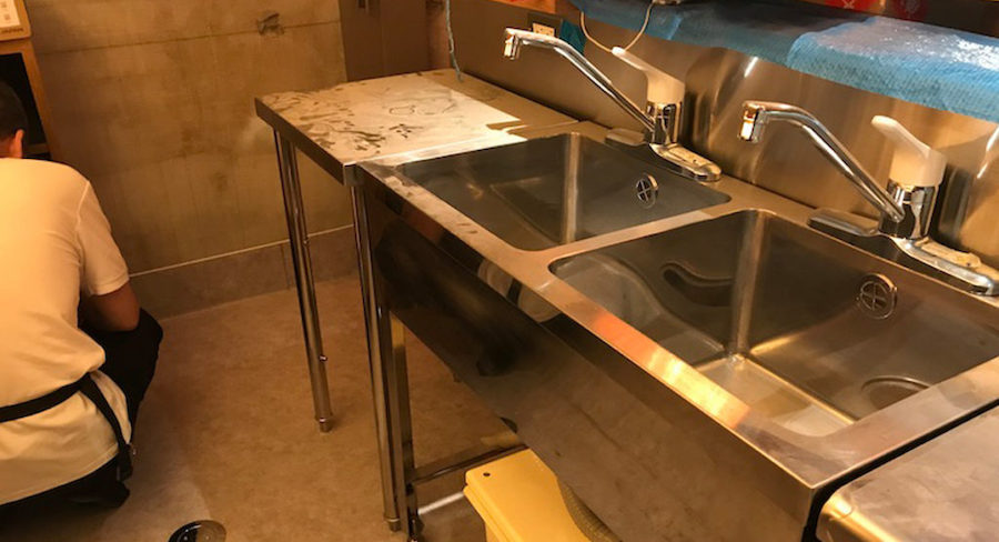 飲食店の水まわり設備
