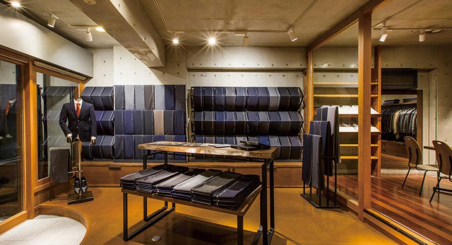 愛知県のオーダースーツ店のデザイン