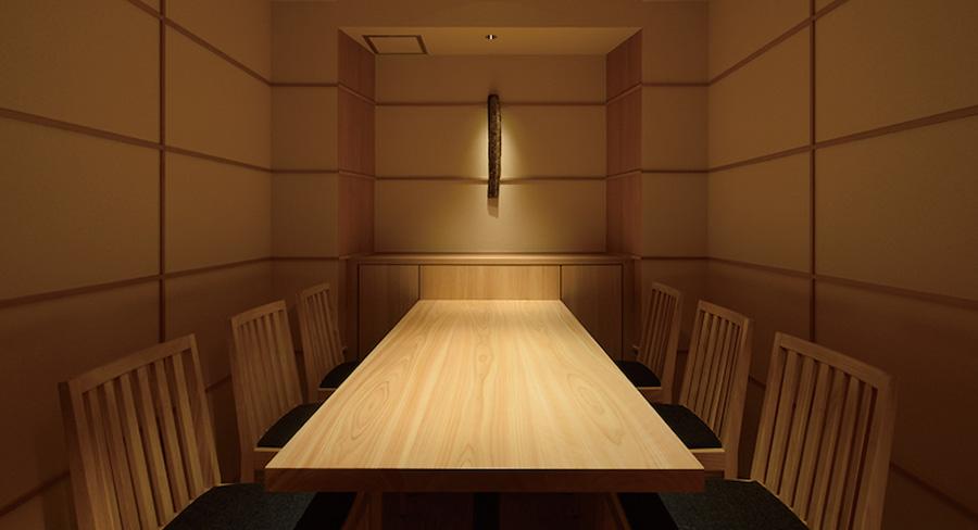 飲食店の個室のデザイン事例