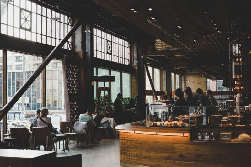 カフェの内装デザイン